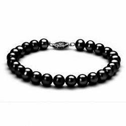 Elegant Crystal Pearl Bracelet 10mm