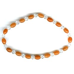 Stretch Crystal Bead Bracelet