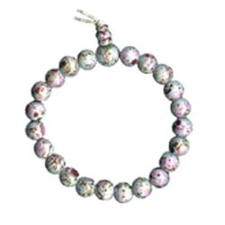 Multicolor Stretch Cloisonne Bracelet