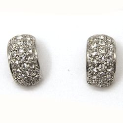 Retro Diamond CZ Earrings