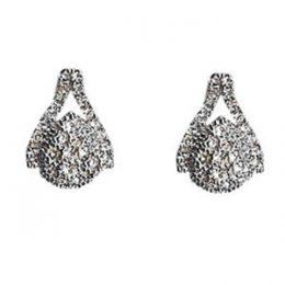 Retro Style Diamond CZ Earrings