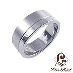 Stainless Steel Men's Wedding Band