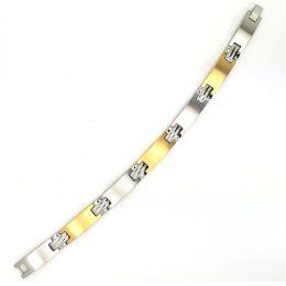 Stainless Steel IPG Link Bracelet