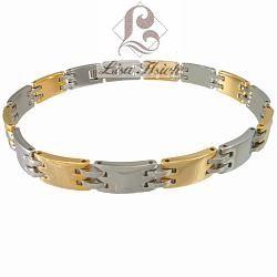 Stainless Steel IPG Link Bracelet-LH123 IPG