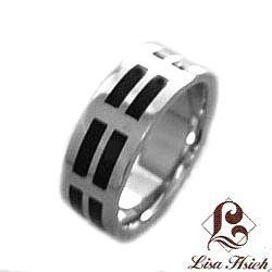 Stainless Steel Men's Soho Ring