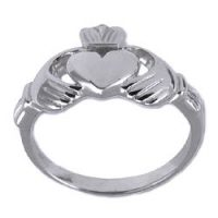 Stainless Steel Classic Celtic Claddagh Ring