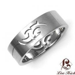 Celtic Stainless Steel Men's Ring