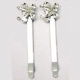 Crystal Butterfly Bobby Pin