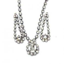 Victorian Austrian Crystal Necklace Set