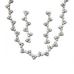 Edwardian Austrian Crystal Necklace Set