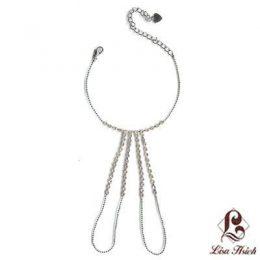 Rhinestone Swarovski Slave Bracelet-XSB001
