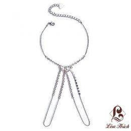 Rhinestone Swarovski Slave Bracelet-XSB002